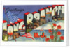Greeting Card from Long Branch, New Jersey by Corbis