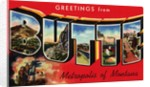 Greeting Card from Butte, Montana by Corbis