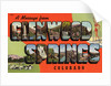 Greeting Card from Glenwood Springs, Colorado by Corbis