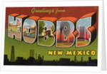 Greeting Card from Hobbs, New Mexico by Corbis