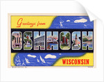 Greeting Card from Oshkosh, Wisconsin by Corbis