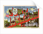 Greeting Card from Fort Jackson by Corbis