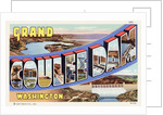 Greeting Card from Grand Coulee Dam, Washington by Corbis