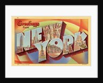 Greeting Card from New York by Corbis