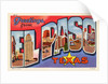 Greeting Card from El Paso, Texas by Corbis