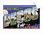 Greeting Card from Pecos, Texas by Corbis