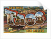 Greetings from Taos, New Mexico Postcard by Corbis