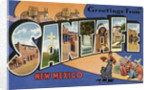 Greeting Card from Santa Fe, New Mexico by Corbis