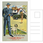 Advertisement for Tailored Clothes by Corbis