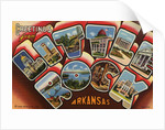 Greeting Card from Little Rock, Arkansas by Corbis