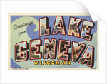 Greeting Card from Lake Geneva by Corbis