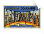 Greeting Card from Columbus, Mississippi by Corbis
