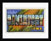 Greeting Card from Davenport, Iowa by Corbis