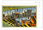 Greeting Card from Michigan City, Indiana by Corbis