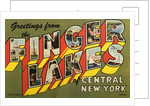 Greeting Card from Finger Lakes by Corbis