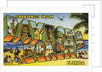 Greeting Card from Daytona Beach, Florida by Corbis