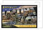 Greeting Card from Laguna Beach by Corbis