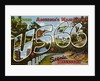 Greetings from U.S. 66 in Scenic Missouri Postcard by Corbis