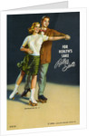 For Health's Sake, Roller Skate Postcard by Corbis
