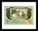 With Loving Easter Wishes Postcard by Corbis