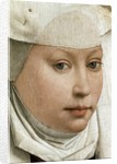Detail of Portrait of a Young Woman by Rogier van der Weyden