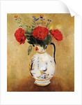 Vase with Flowers by Odilon Redon