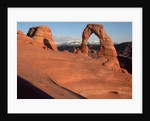 Delicate Arch in Low-Lying Sunlight by Corbis