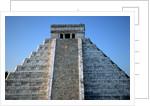 Pyramid of Kukulcan by Corbis