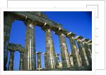 Greek Temple Ruins by Corbis