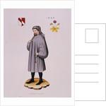 Portrait Print of Geoffrey Chaucer by Corbis