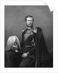 Engraved Portrait of Prince Frederick William of Prussia by D.J. Pound