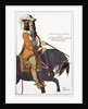 Print Depicting King Louis XIII on Horseback by Corbis