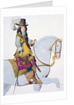 Print Depicting King Louis XIV on Horseback by Corbis