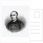 Engraving by Tony Goutiere After Pierre Antoine Berryer Painting by Louis Marckl