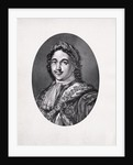 Peter the Great Engraving by Corbis