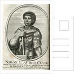 Neron. Claudius Cesar Engraving by Corbis