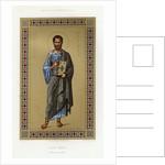 Book Illustration of Saint Mark by Corbis