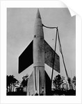 A German V-2 Rocket Ready for Launching by Corbis