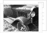 Destroyed Car by Corbis