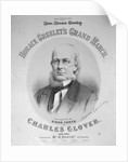 Printed Poster Invitation to Horace Greeley Presidential March by Corbis