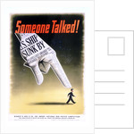 Someone Talked! Poster by Henry Koerner
