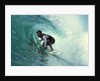 Professional Surfer Riding a Wave by Corbis