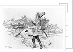 Charles Darwin Making Discovery by Corbis