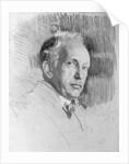 Drawn Portrait of Composer Richard Strauss by Corbis