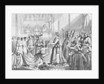 Napoleon Crowning Josephine by Corbis