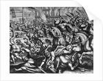 Siege of Constantinople, 1453 by Matthaeus Merian