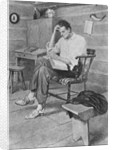 Abraham Lincoln Reading by Corbis