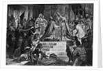 Charlemagne coronation by Corbis