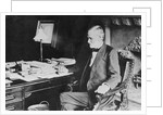 John Sherman Seated at His Desk by Corbis