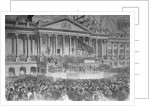 Abraham Lincoln's Inauguration by Corbis
